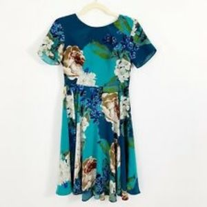 Anthropologie Corey Lynn Calter Paeonia dress